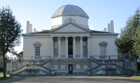 South façade of Chiswick House