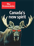 Economist magazine cover: Canada's new spirit